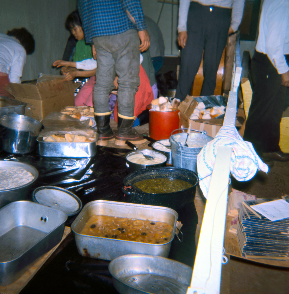 1968 Food for spring potlatch.
