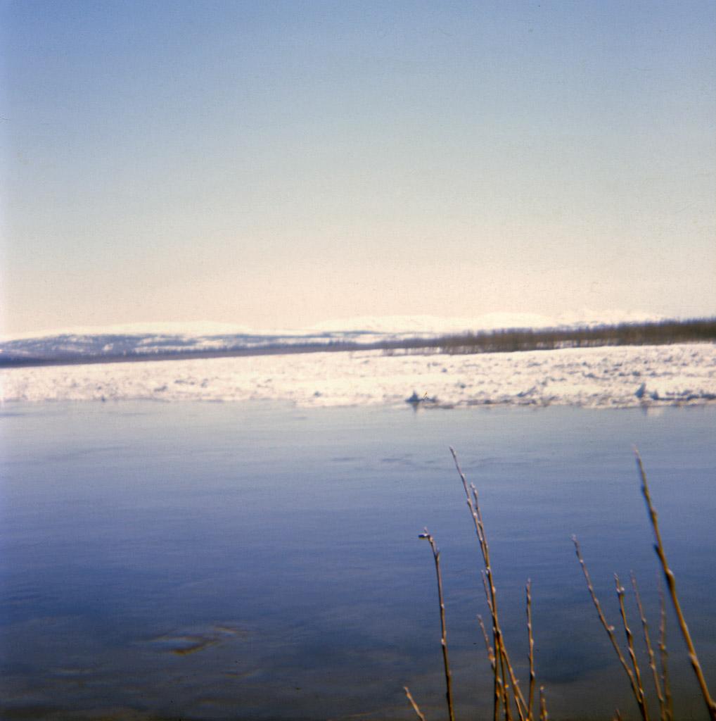 1968 May. Spring ice breaking up.