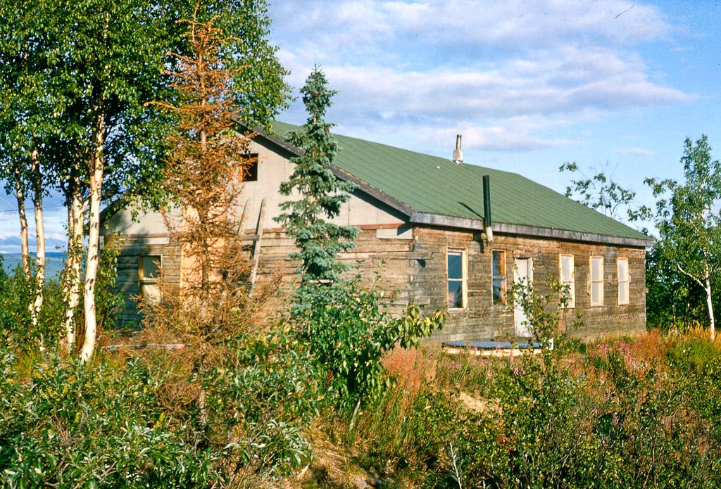 Ambler Friends Church.  Ambler, Alaska, 1964.