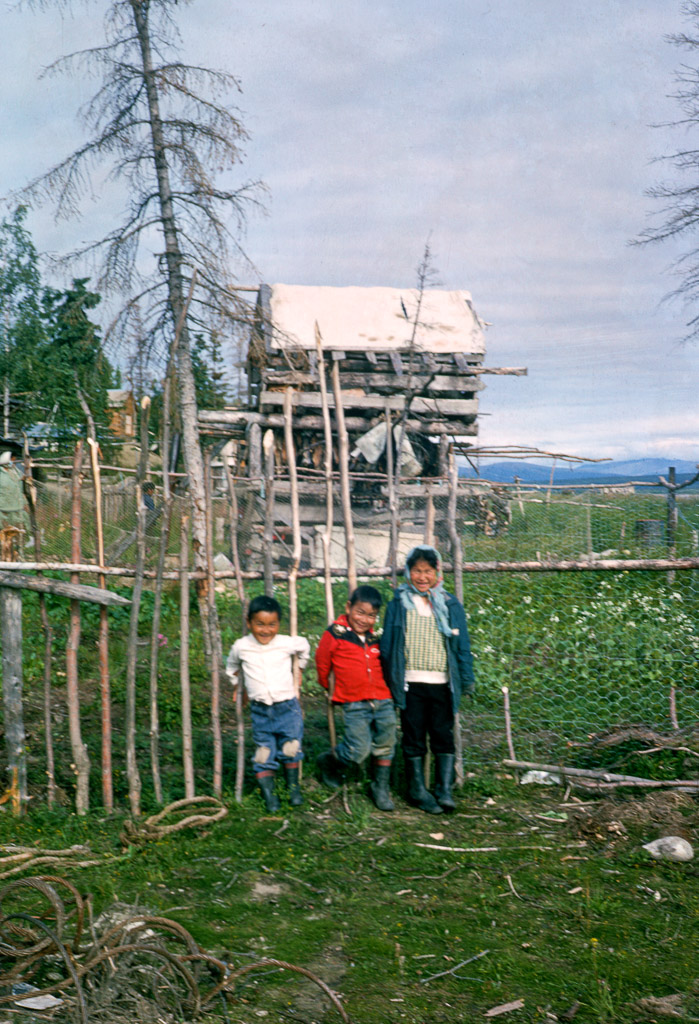 Children in Ambler, Alaska
