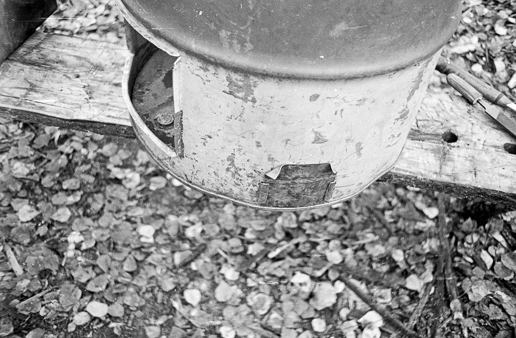 1978 Barrel stove construction