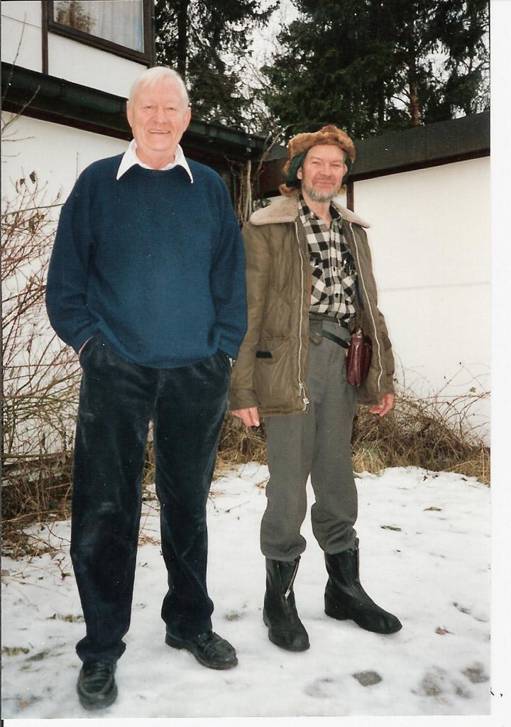 BJORN, HEIDIS DAD AND OLIVER, 1993