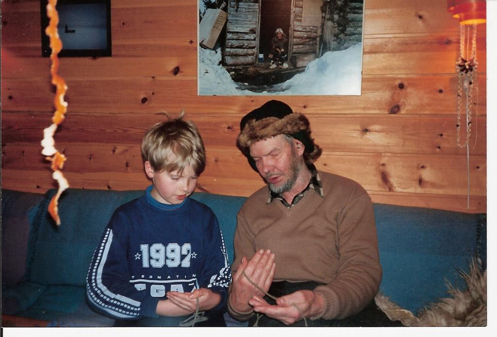 Oliver and Mikkel.